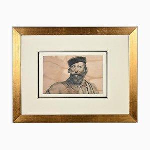 Unknown, Giuseppe Garibaldi, Lithograph, Late 19th Century