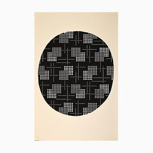 Clement Kons, Composition 3, Drawing, 1920s