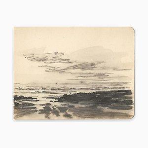 Louis-Charles Willaume, Black Sea Horizon, Encre, 1938