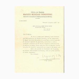 Ugo Ojetti, Maggio Musicale Fiorentino, TLS, 1930er