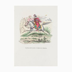 Unknown, Red Knights of D'abd-el-kader, Lithograph, 1846