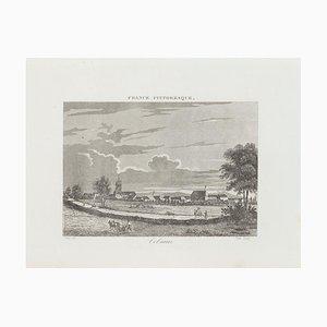 Unknown - Colmar - Original Etching - 19th Century