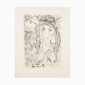 Gian Paolo Berto - Composition of Figures - Artwork - 1975