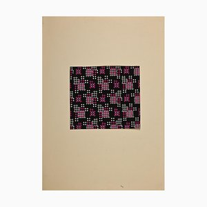 Clement Nicolas Kons - Geometry Game - Tempera - 1920s