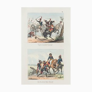 Unknown, Battle, Lithograph, 19. Jahrhundert