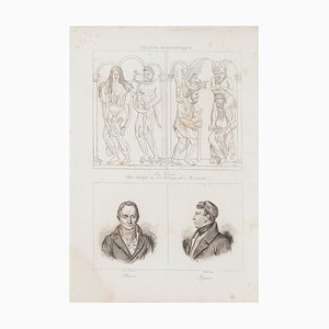 Unknown, Christian Art and Portraits, Lithograph, 19th Century
