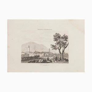 Unknown, Landscape, Lithograph, 19th Century