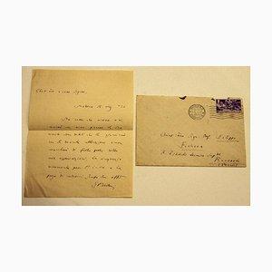 Letter by Enrico Bertini to Philip Fichera - 1930s