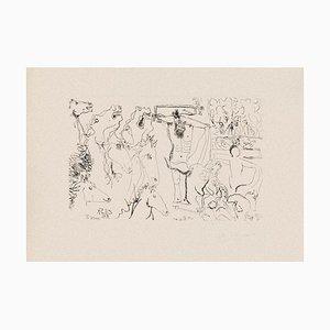 Gian Paolo Berto - The Crucifixion - Gravure à l'Eau-Forte sur Papier - 1975