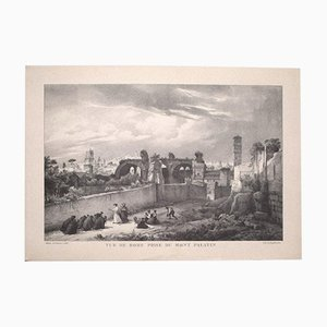 Godefroy Engelmann - View of Rome - Vintage Offset Print - Early 20th-Century
