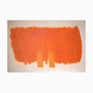 Richard Smith - Composition - Lithograph - 1971