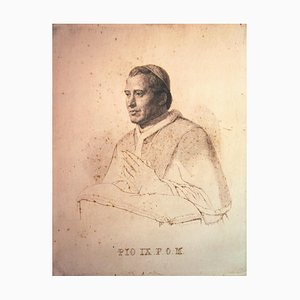 Desconocido - Retrato - Mixed-Media original en cartulina - década de 1850