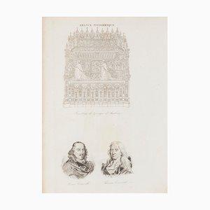 Unknown - Price - Portrait - Original Lithograph - 19th Century