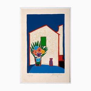 Sante Monachesi - the House - Original Screen Print - 1980