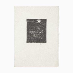 Gian Paolo Berto - the Full Moon - Original Artwork - 1970s