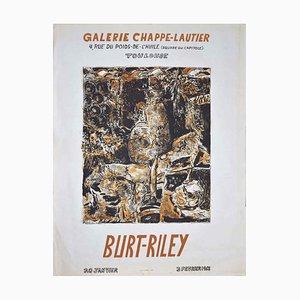 Affiche - Burt-Riley Poster - Vintage Offset Print - 1968