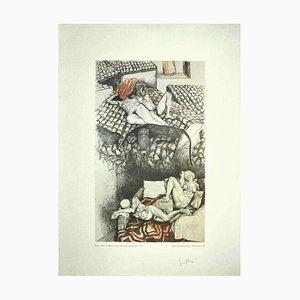 Renato Guttuso, Allegorien: Der Schlaf der Vernunft, 1979