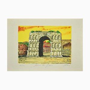 Marco Orsi - Roman Arch - Siebdruck Originaldruck - 1980er