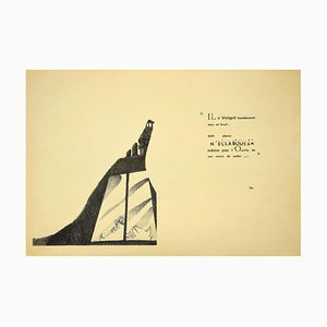 Unknown - The Poetry - Vintage Offset Print on Paper - Early 20th Century