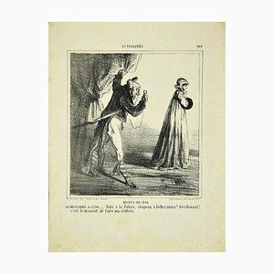 Cham (Amodee de Noe) - Modes De 1864 - Original Lithograph - 1864