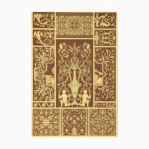 Italian Renaissance - Chromolithograph - 19th-Century