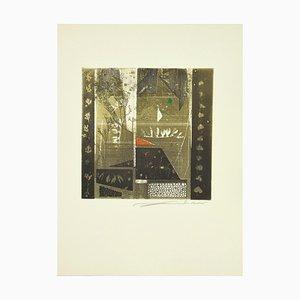 René Lubarow - Spreads - Original Etching - 1978