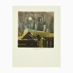 René Lubarow - A Ton Tour - Original Radierung - 1978