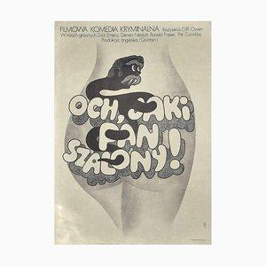 Och, jaki pan szalony - Vintage Poster - Offset Print - 1974