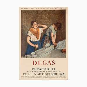 Unknown - Degas - Vintage Poster - Offsetdruck - 1960er