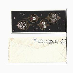 Vittorio Rieti, Merry Christmas Card, 1956