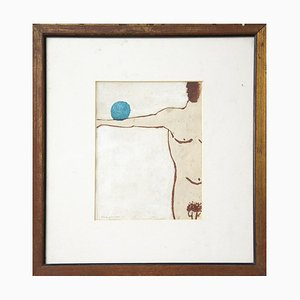 Unknown - Balance - Original Mixed Media - 1970s