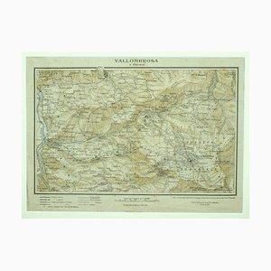 Unknown - Karte von Vallombrosa - Florenz 1926