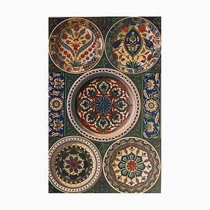 Unknown - Persian Fantasy - Original Lithograph 19th Century