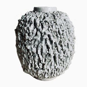 Medium Fireclay Vase by Gunnar Nylund