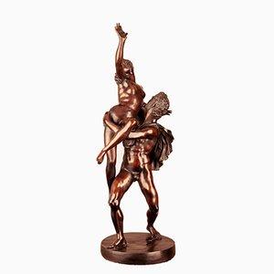Bronzestatue - Entführung der Sabinerinnen