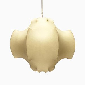 Mid-Century Italian Cocoon Viscontea Ceiling Lamp by Achille & Pier Giacomo Castiglioni for Flos