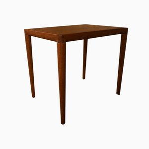 Mid-Century Teak Side Table by H. W. Klein for Bramin