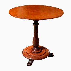 Antiker Tisch mit kippbarer Tischplatte aus Mahagoni
