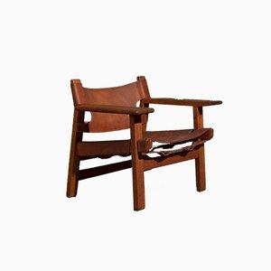 Spanish Chair von Børge Mogensen für Fredericia, 1950er