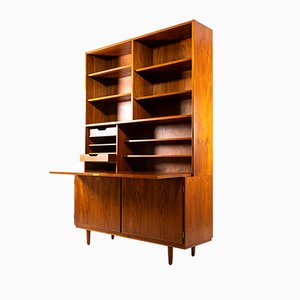 Teak Secretaire by Carlo Jensen for Hundevad & Co., 1960s