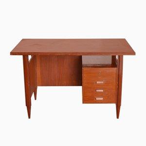 Schreibtisch aus Holz, 1960er