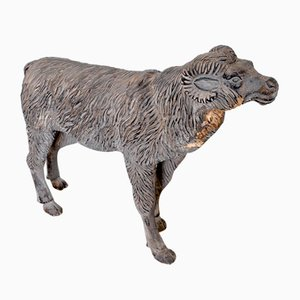 Woodcarving Size Depicting a Ram