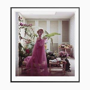Eva Gabor Framed in Black by Slim Aarons