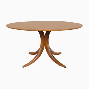 Mid-Century Nussholz Tisch von Alma, 1960er