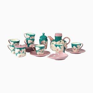 Italienisches Servier-Set aus Keramik von Ernestine Salerno, 1960er, 11er Set