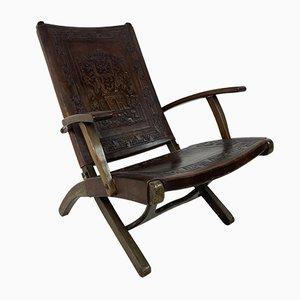 Mid-Century Lounge Chair by Angel I. Pazmino for Muebles de Estilo, 1960s