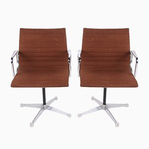 EA 108 Rotatable Armchairs by Charles & Ray Eames for Vitra, 1970s, Set of 2
