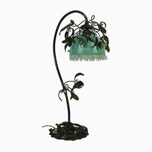 Antique Art Nouveau Boule de Gui Table Lamp