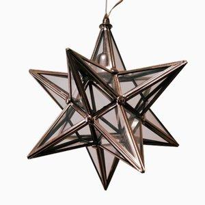 Vintage Silver Star Deckenlampe