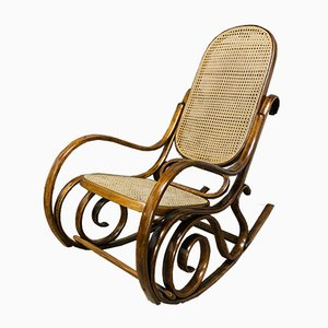 Antique Rocking Chair by Michael Thonet for Gebrüder Thonet Vienna GmbH